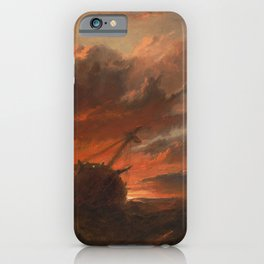 Francis Danby - Shipwreck iPhone Case
