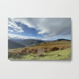 Novembre in Ariege - Pyrenees (France) Metal Print