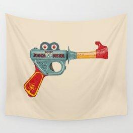 Gun Toy Wall Tapestry