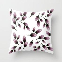 Lil Flower Buds Throw Pillow