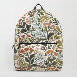 Month of May ~ white Backpack