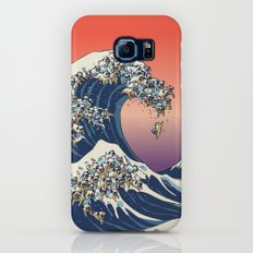 The Great Wave of Pug Galaxy S8 Slim Case