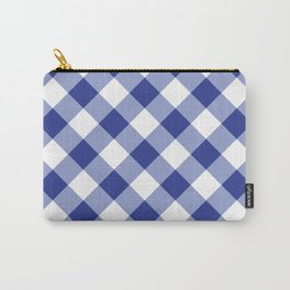 Gingham - Navy Carry-All Pouch