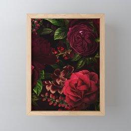 Vintage & Shabby Chic - Vintage & Shabby Chic - Mystical Night Roses Framed Mini Art Print