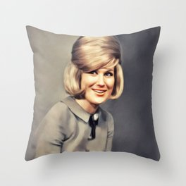 Dusty Springfield, Music Legend Throw Pillow