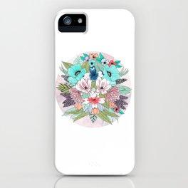 Colourful Bouquet iPhone Case