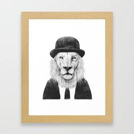 Sir lion Gerahmter Kunstdruck