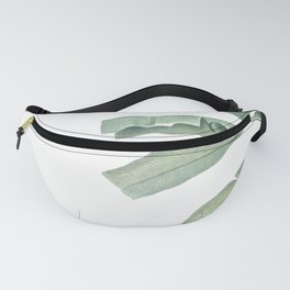 Green leaves Fanny Pack