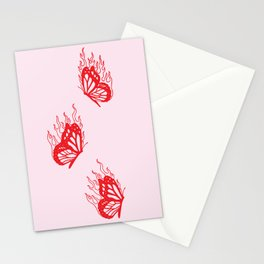 Give Me Butterflies Stationery Cards