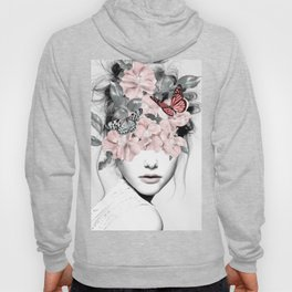 WOMAN WITH FLOWERS 10 Hoodie