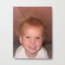 Electric baby Metal Print