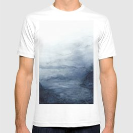Indigo Abstract Painting   No.2 T-shirt