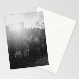 Two Boys in Berlin Stationery Cards