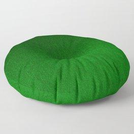 Emerald Green Ombre Design Floor Pillow