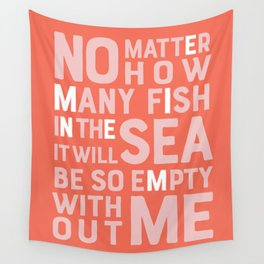 Fish in the Sea Wall Tapestry