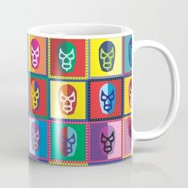 mascaras de luchadores II Coffee Mug