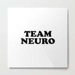 Team Neuro Metal Print