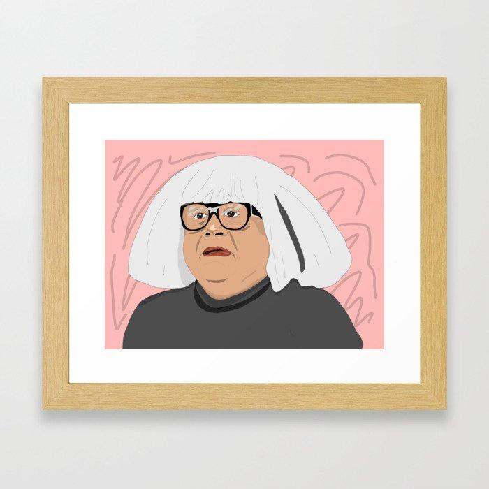 frank as an art collector Gerahmter Kunstdruck