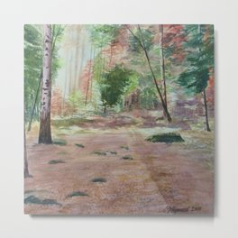 Into The Forest Metal Print