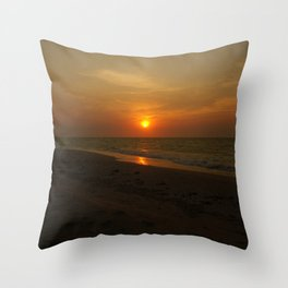 Yukatan Sunset Throw Pillow