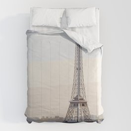 Geometric Eiffel Tower, Paris France Comforters