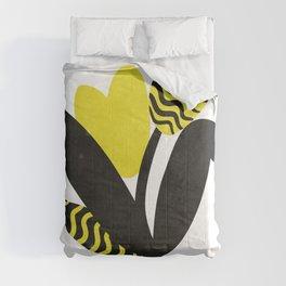 Modern plant 0123 Comforters