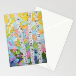 Dancing Birch Trees No. 2 Stationery Cards