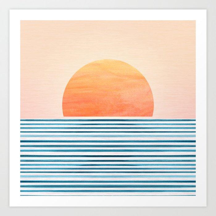 Morning in Paradise ~ Tropical Sunrise Kunstdrucke