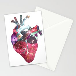Superstar Heart (on white) Stationery Cards