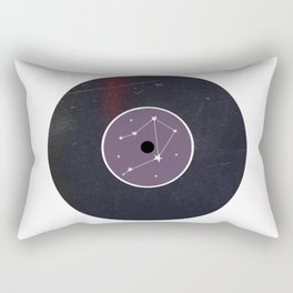 Vinyl Record Star Sign Art | Libra Rectangular Pillow