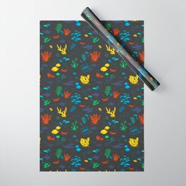 Deep Sea Rainbow Wrapping Paper