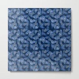 mariposa azul Metal Print