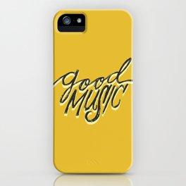 Good music iPhone Case