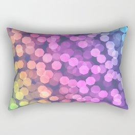 multicolor effect Rectangular Pillow