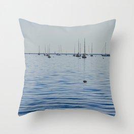 Gathering Memories - Iconic Summer Throw Pillow