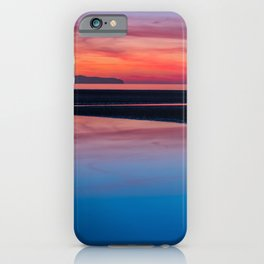 Sunset Seascape Wales iPhone Case