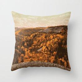 Riding Mountain National Park Throw Pillow