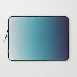 Blue White Gradient Laptop Sleeve
