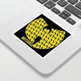 WU TANG CLAN Tribute Sticker