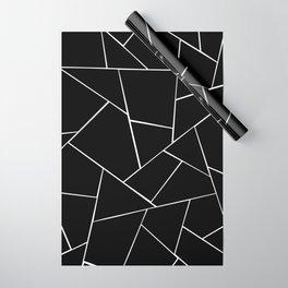 Black White Geometric Glam #2 #geo #decor #art #society6 Wrapping Paper