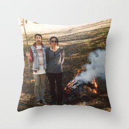 MYMYMY Throw Pillow