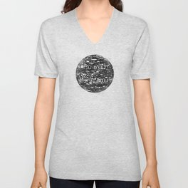 Too Much to Think About! Unisex V-Neck