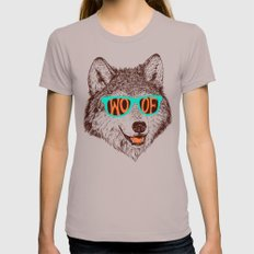 Woof Cinder MEDIUM Womens Fitted Tee
