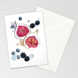 Figs and Berries Stationery Cards