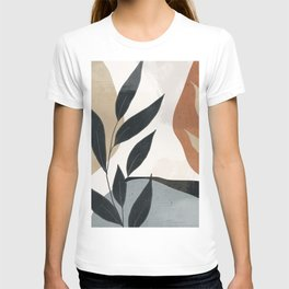 Abstract Art Tropical Leaves 5 T-shirt
