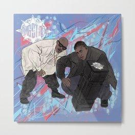 Guru & DJ Premier Forever. - 704. Metal Print