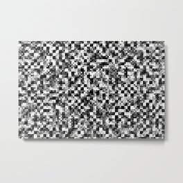 Bilinear Interpolation Metal Print