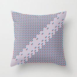 Pattern Distancing Throw Pillow