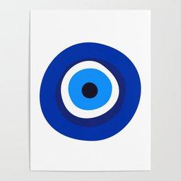 evil eye symbol Poster