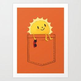Pocketful of sunshine Kunstdrucke